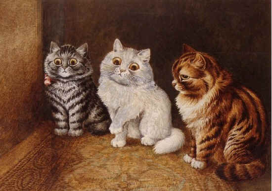 Louis Wain Cat Gallery From WonderRanchPublishing.com